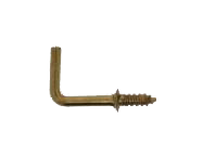 Right Angle Hook 2.5mm Per 100