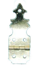 Brass Plated Hinge with Screw Per 10