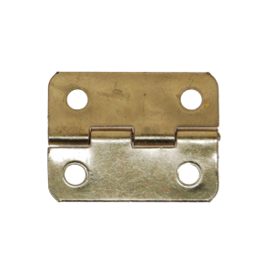 Brass Plated Hinge 17 x 14mm Per 100