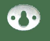 25mm Oval Key Hole per 100