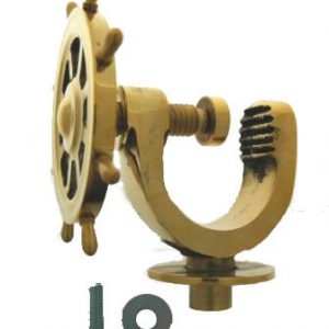 Brass Nut Cracker - Ship Wheel