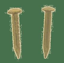 8mm Gilt Nails per 100