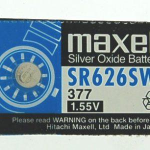 Battery 1.5 volt Silver Oxide