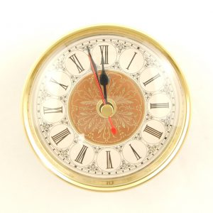 100mm Clock Insert Fancy Roman