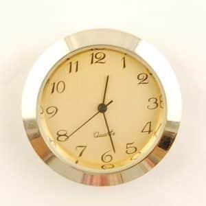 36mm Clock Insert Gold Arabic Metal