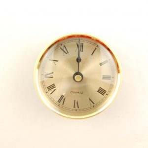 69mm Clock Insert Gold Roman